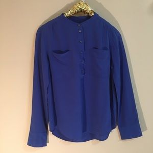 J. Crew Silk Long Sleeved Shirt NWOT